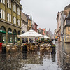 Rainy Day on the Walking Street, Brașov