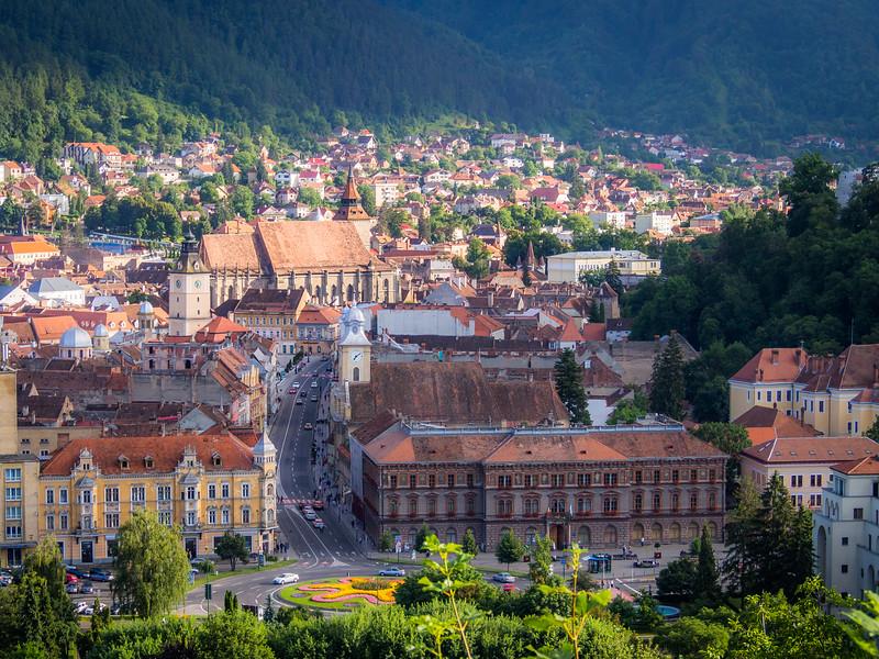 Brașov Old Town Closeup