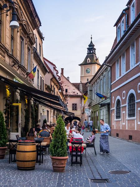 Gemütlich Alleyway, Brașov