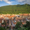 Evening Panorama above the Old Town, Brașov