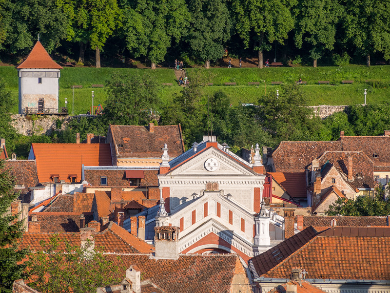 Rooftops and the Synagogue, Brașov