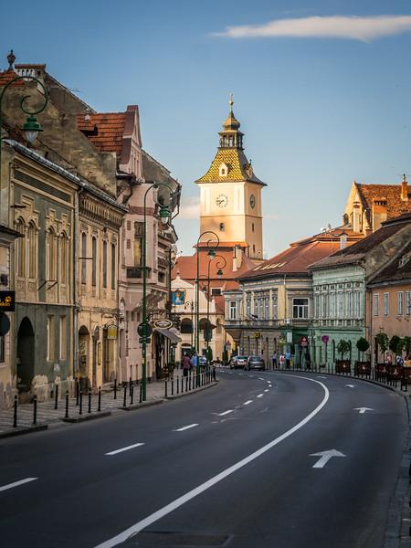 Old Town Street, Brașov