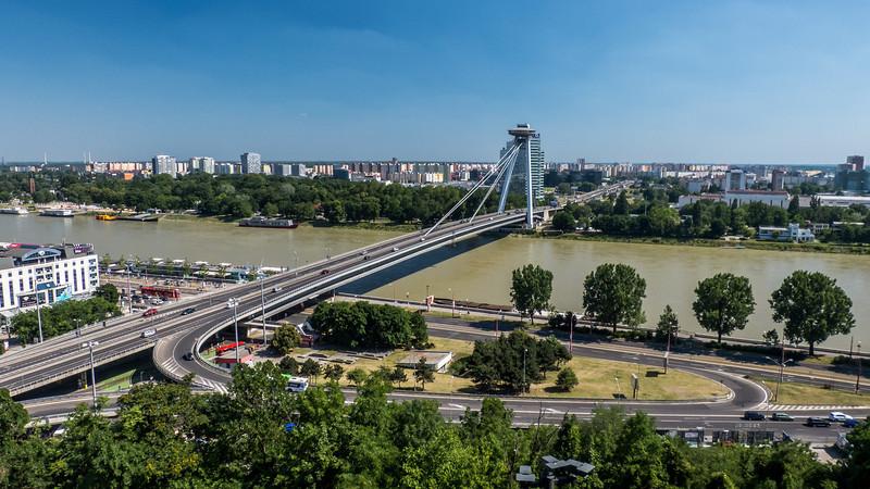 Danube and Bratislava Suburbs
