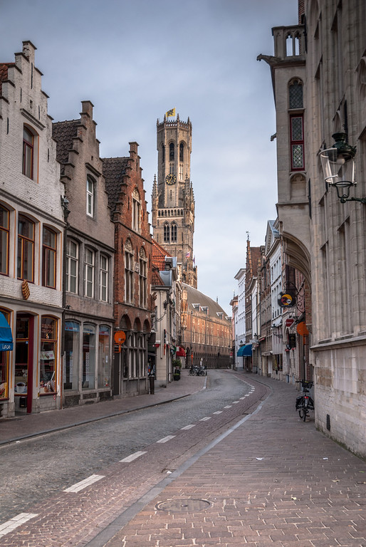 Into Town, Bruges