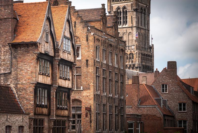 Medieval Façades, Bruges, Belgium
