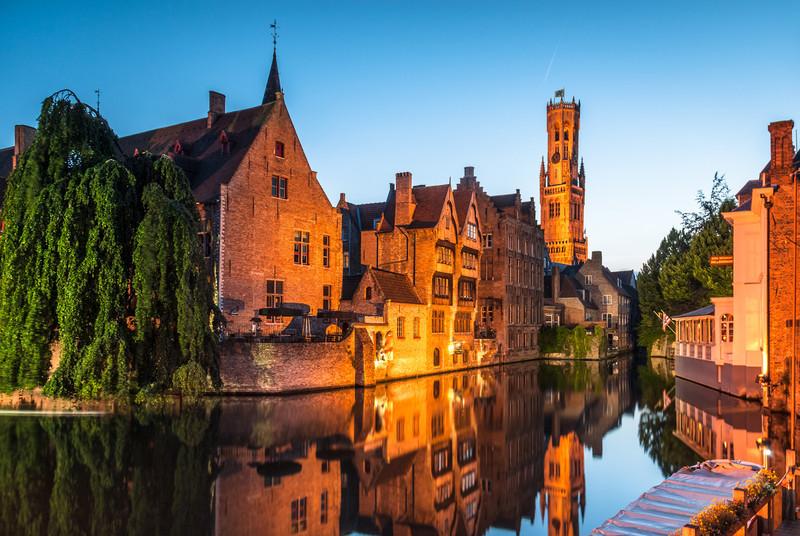 Medieval Nights, Bruges, Belgium