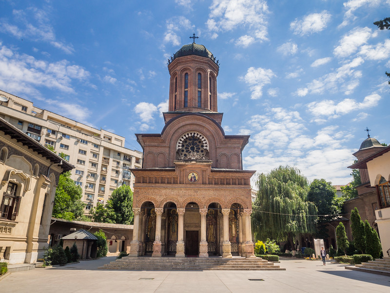 Church of the Antim Monastery, Bucharest