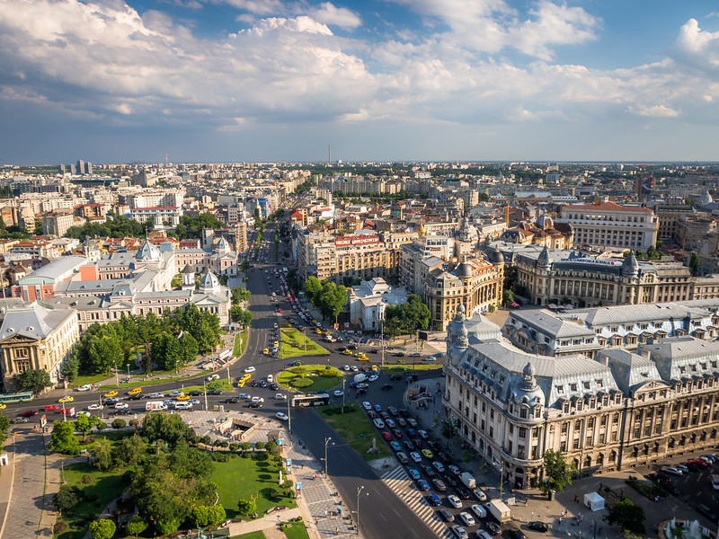 Bucharest from Above, Romania