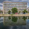 Modern Building Reflected, Bucharest