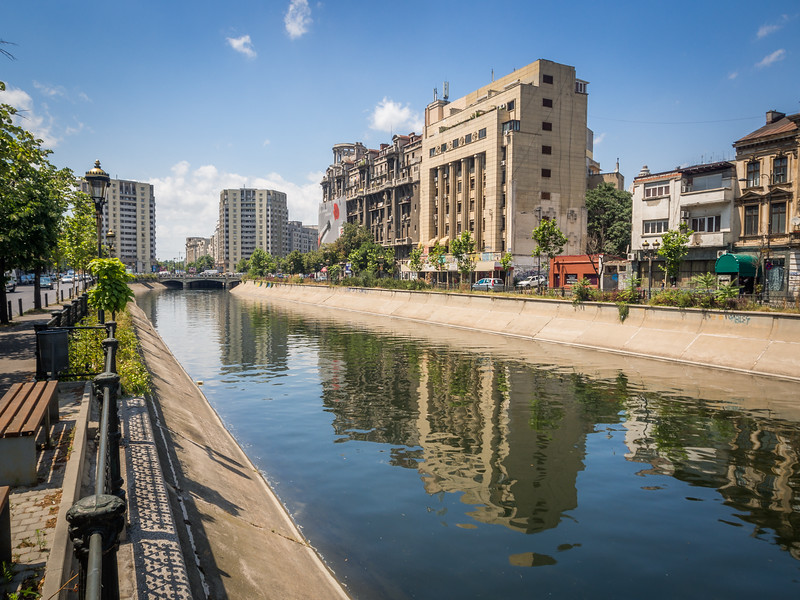 Along the Canals, Bucharest, Romania