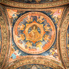 Ceiling Frescoe, Bucharest, Romania
