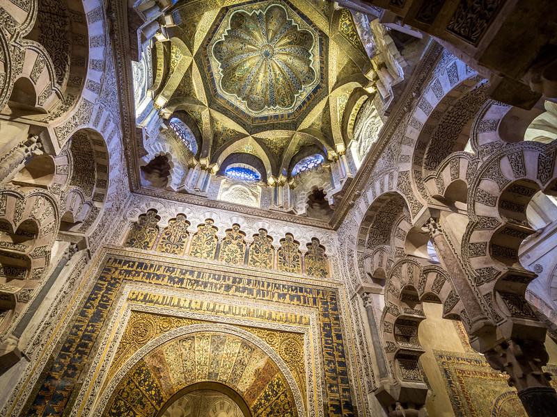 Magnificent Ceiling, Mezquita, Córdoba