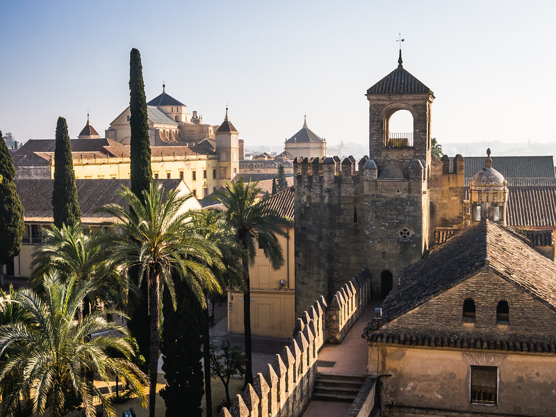 Walls of the Old Alcázar, Córdoba, Spain