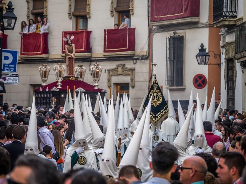 Approaching Procession, Córdoba
