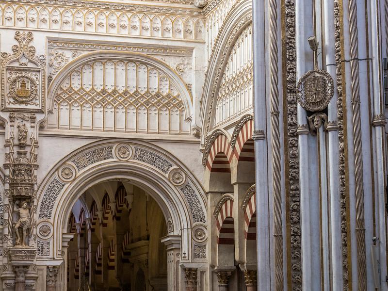 Fine Stonework, Mezquita, Córdoba, Spain
