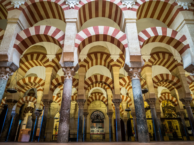 Striped Voussoirs of the Mezquita, Córdoba, Spain