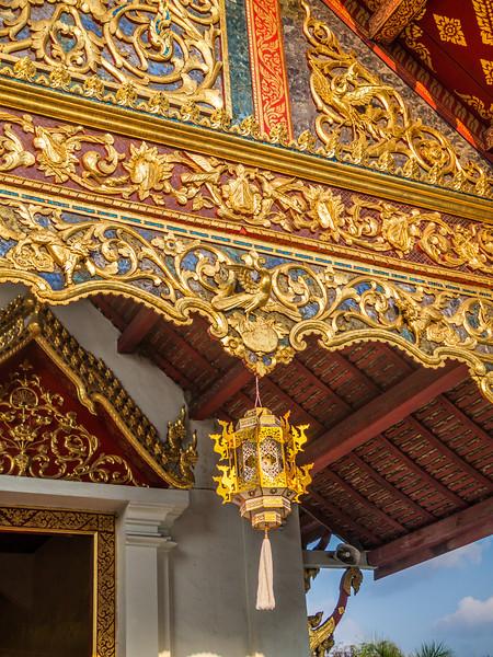 Lantern, Wat Phra Singh, Chiang Mai