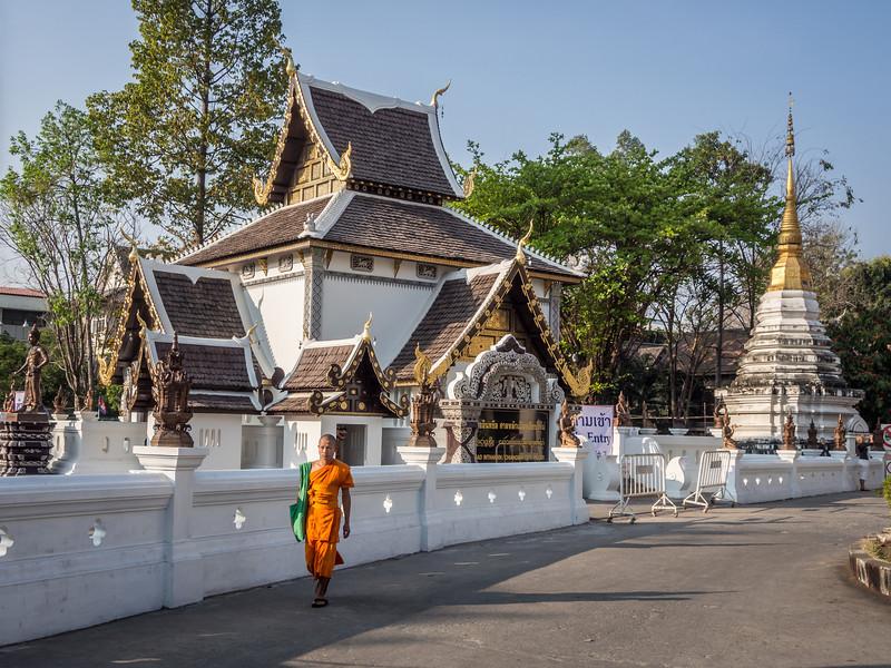 Wat and Chedi at Chedi Luang, Chiang Mai