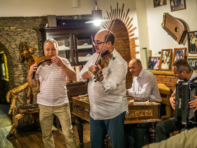 Folk Musicians, Chisinau, Moldova