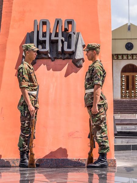 Soldiers in Repose, Chisinau