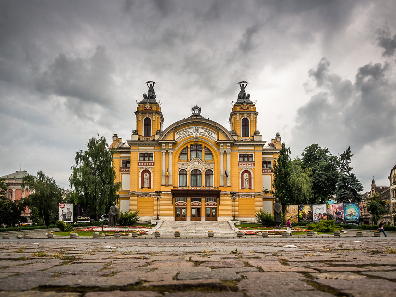 The National Theatre, Cluj-Napoca, Romania