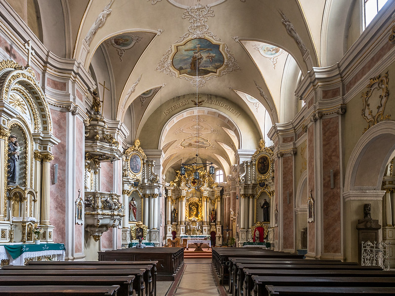 Inside the Franciscan Church, Cluj-Napoca