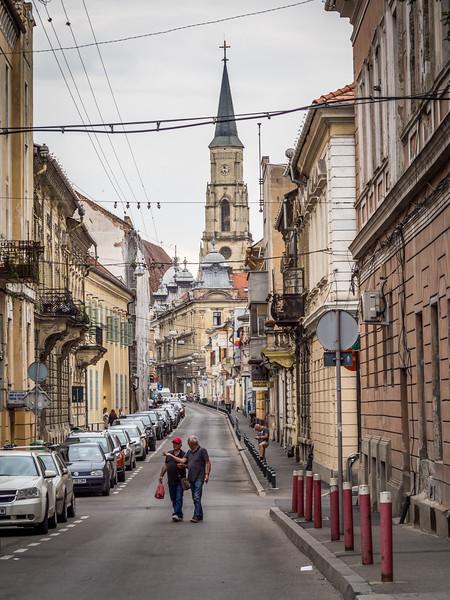 Cluj-Napoca Street Scene