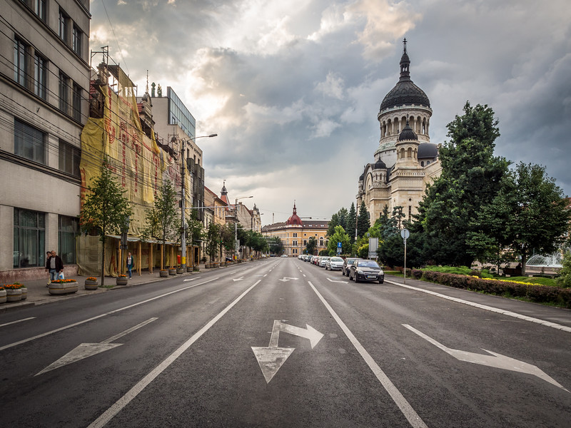 Arrows on the Street, Cluj-Napoca