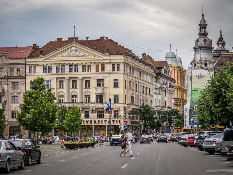 The New York Palace and Surroundings, Cluj-Napoca
