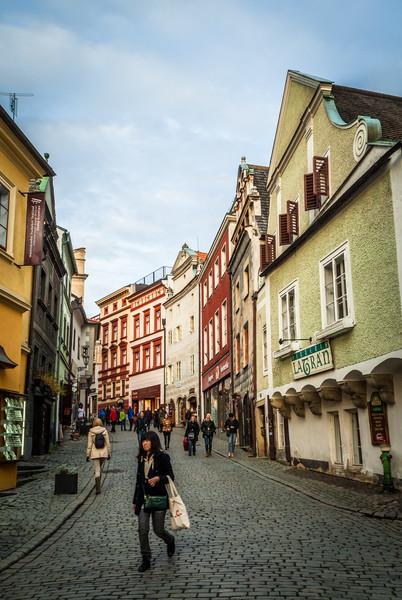 Walking Street, Český Krumlov
