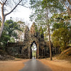 Leaving Angkor Thom