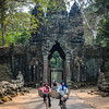 Off to Work, North Gate, Angkor Thom