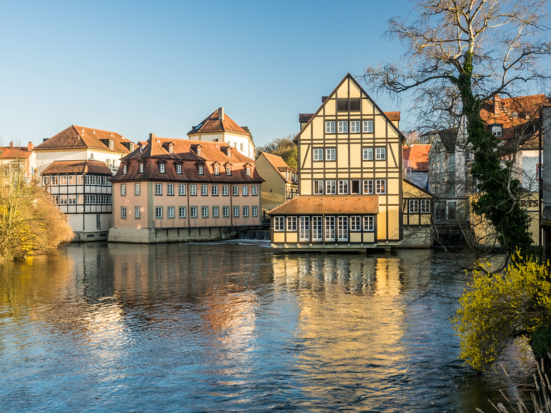 Riverhouse Reflection, Bamberg, Germany