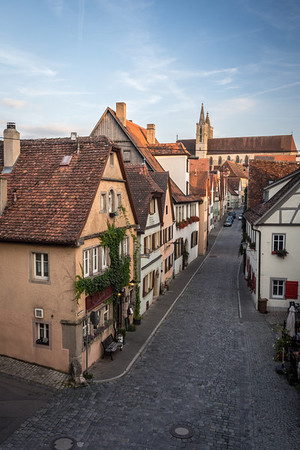 Village Street, Rothenburg
