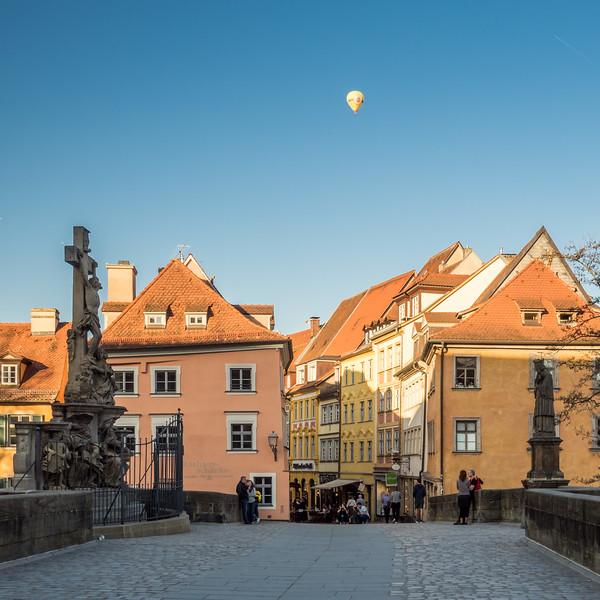 On the Bridge in Bamberg