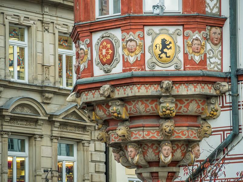 Façade Faces, Coburg, Germany