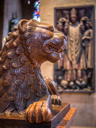 Cathedral Lion, Mainz