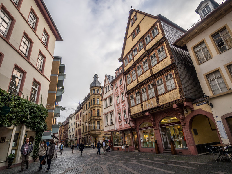 Downtown Walk, Mainz, Germany