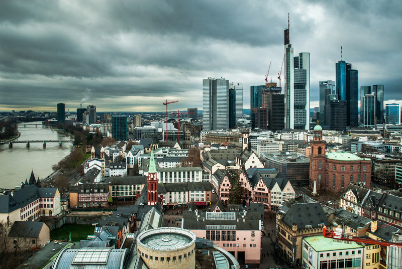Frankfurt in the Gray, Germany