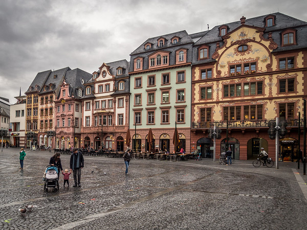 On the Main Square, Mainz