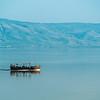 Boatride on the Sea of Galilee, Israel