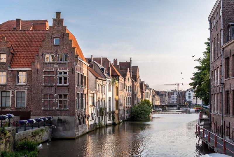Canalside Evening, Ghent