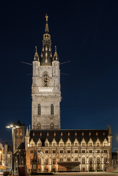 Night on the Belfry, Ghent