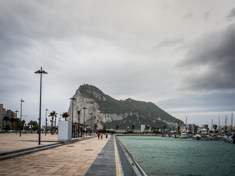 Gibraltar from the Harbor, Algeciras