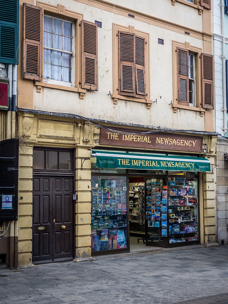 The Newsagents', Gibraltar