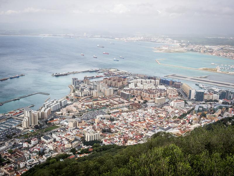The City Below, Gibraltar