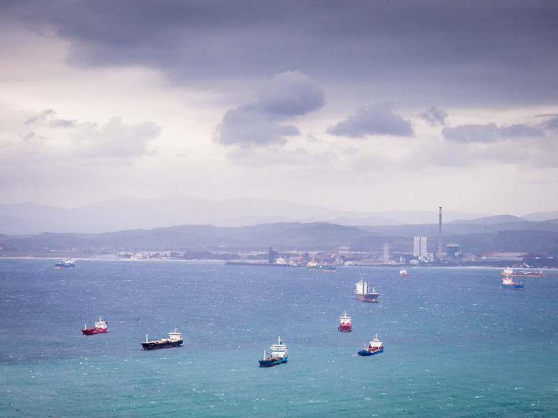 Boats in the Bay, Gibraltar