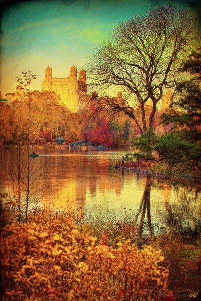 Central Park Fall Vintage