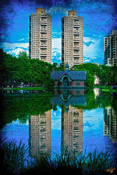Harlem Meer Fantasy, Central Park
