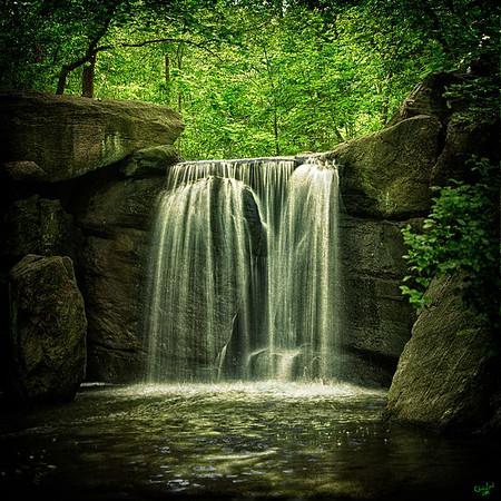 North Woods Waterfall